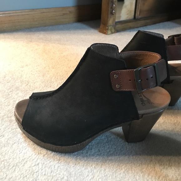 0f1048caf2c Dansko Shoes - Dansko peep hole booties